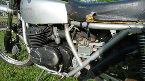 Yankee Z500 - Engine
