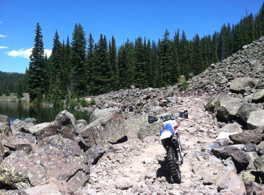 Zack Loucks - XR200 Off-Road Rear Rocks