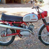1970 Zundapp 100GS ISDT Replica