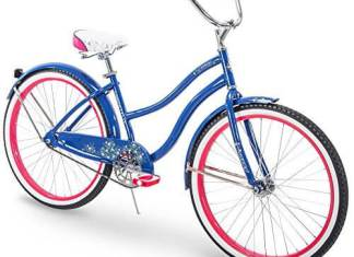 Huffy 24 & 26 Beach Cruiser Bike for Men & Women, Fairmont