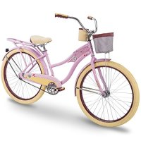 "Huffy 26"" Women's Beach Cruiser Holbrook Bike w/ Cup Holder"