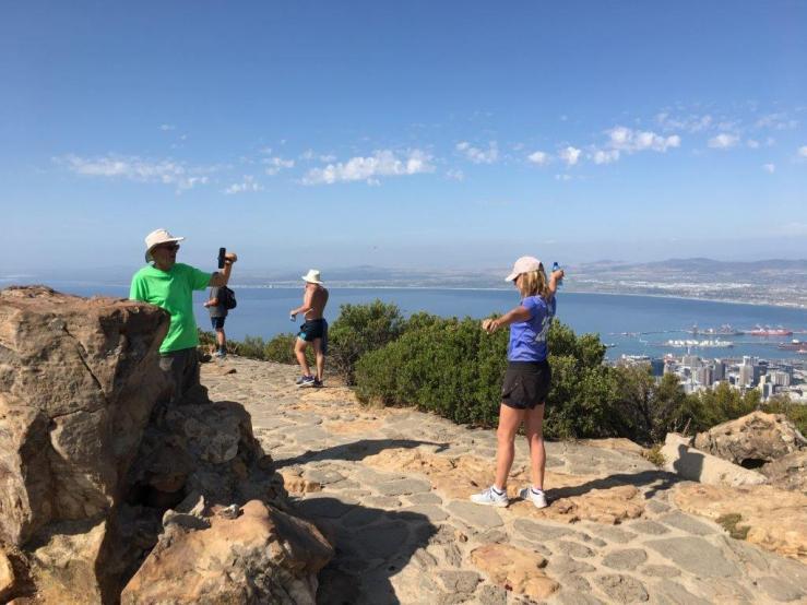 Bike and Hike guide Lionshead hike Cape Town