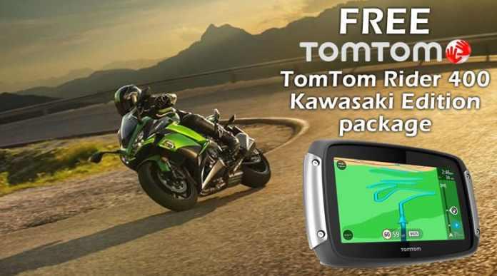 Kawasaki Free Tomtom