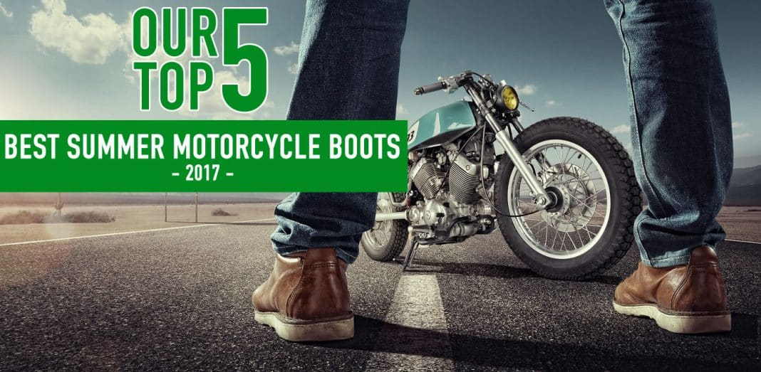 Best Summer Motorcycle Boots