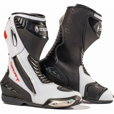Cheapest-Richa Drift Boots WP - Black White-price-comparison