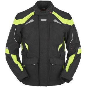 Cheapest Furygan WR-16 Textile Jacket - Black / Fluo Yellow Price Comparison