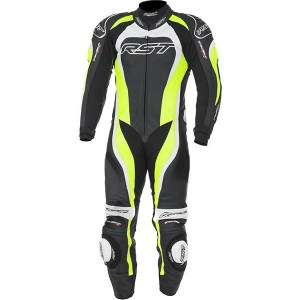 Cheapest RST Tractech Evo 2 One Piece Leather Suit - Flo Green Price Comparison
