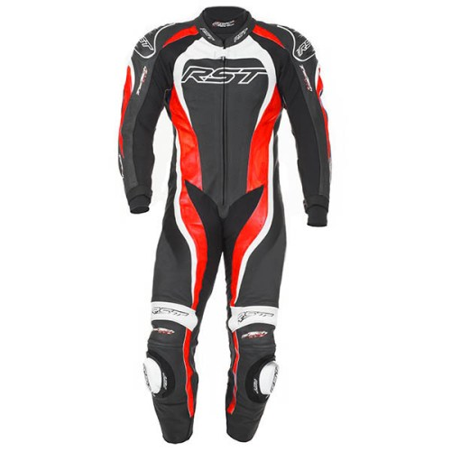 Cheapest RST Tractech Evo 2 One Piece Leather Suit - Flo Red Price Comparison