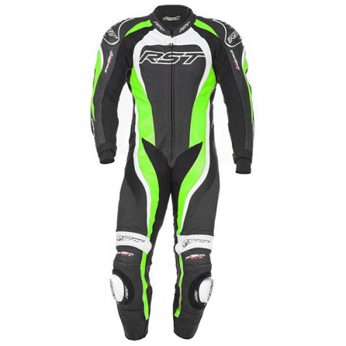 Cheapest RST Tractech Evo 2 One Piece Leather Suit - Green Price Comparison