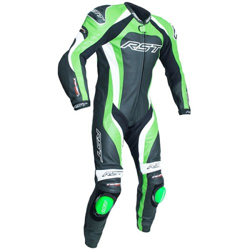Cheapest RST Tractech Evo 3 CE Leather Suit - Black / Green Price Comparison