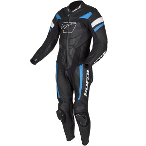 Cheapest Spada Curve Evo 1 Piece Leather Suit - Black / Blue / White Price Comparison