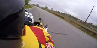 Car Reviewer Rides Pillion On Superbike