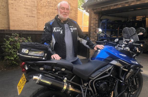 motorbike crash - John J Millar