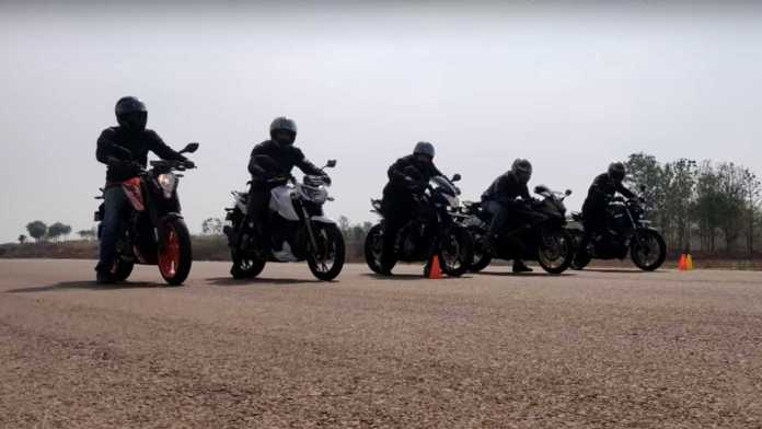 Epic Small-Displacement Bikes Drag Race