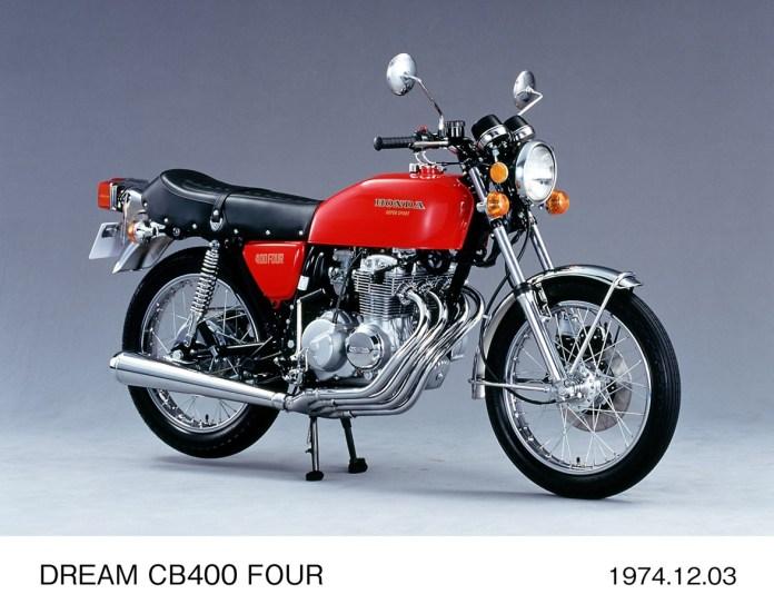 1975 Honda CB400F