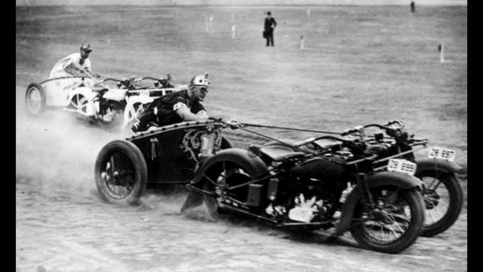 Motorcycle Chariot Racing is Cooler Than You'll Ever Be