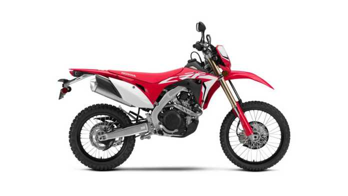 The Honda CRF450L Could Lose Its Horn