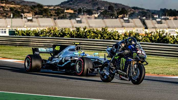 We Finally Get A Look At The Rossi Vs Hamilton Swap