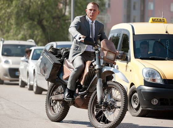 James Bond's greatest motorcycling moments