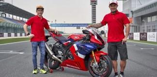 Honda's race ambassadors talk through a lap of Qatar onboard the new CBR1000RR-R Fireblade SP