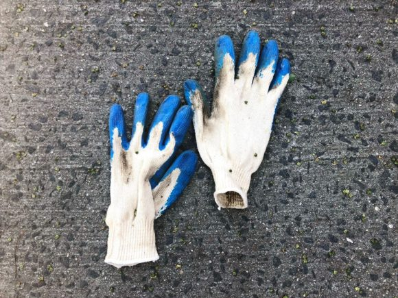 Remember your gloves