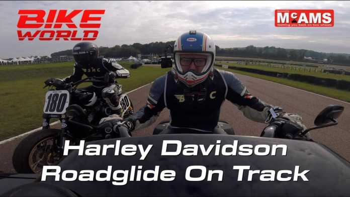 Watch This Harley-Davidson CVO Road Glide Hit The Racetrack