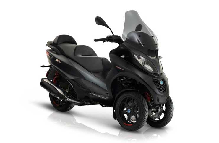 2019 And 2020 Piaggio MP3 500 Brakes Could Get Soft