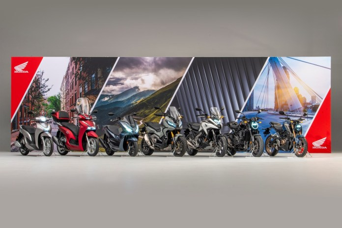 Honda announce seven more additions to its comprehensive 2021 European motorcycle line up