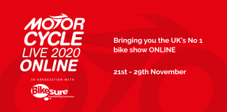 New motorcycles to be displayed at Motorcycle Live Online 2020