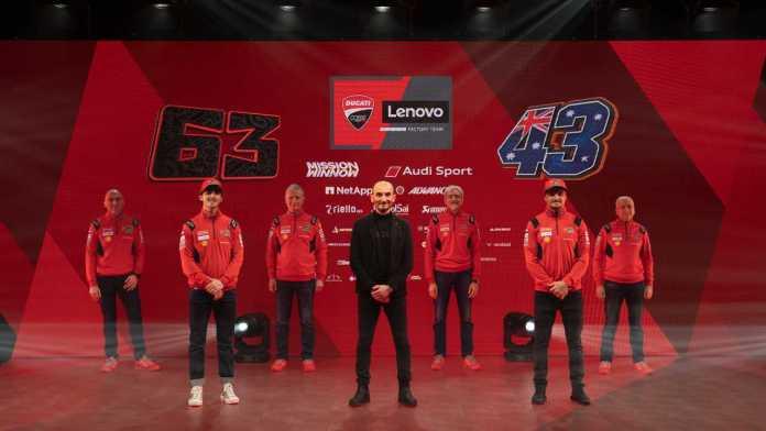 2021 Ducati Corse Team