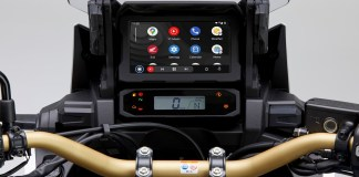 Android Auto integration for the CRF1100L Africa Twin