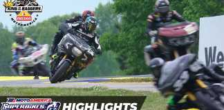 Harley Vs. Indian Rivalry Dominates King Of The Baggers Opener