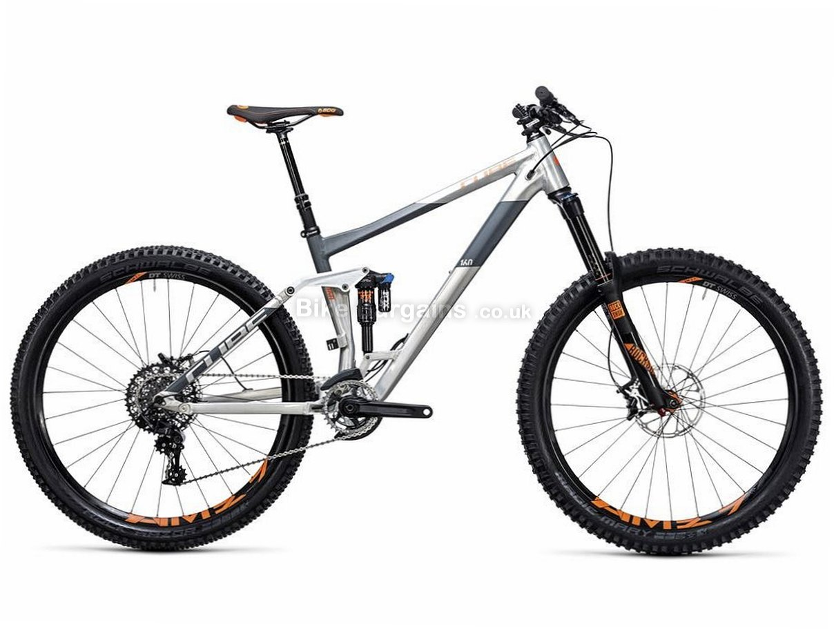 Cube Stereo 160 Hpa Tm 27 5 X1 Alloy Suspension Mtb