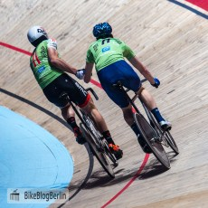 Otto Vergaerde (blauer Helm) & Henning Bommel (weißer Helm)