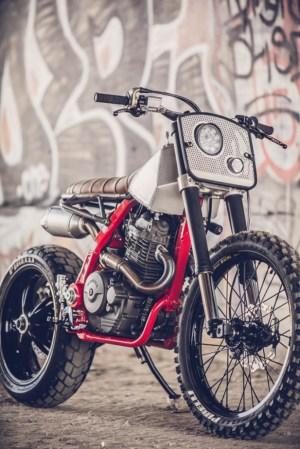"""""""Death Crusher"""" NX650 Supermoto  Tracker – BikeBound"""