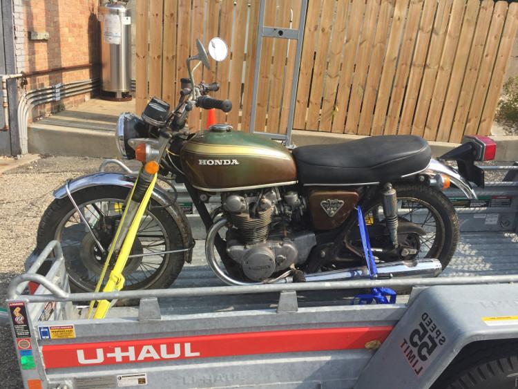 Honda Cb450 Cafe Racer Tenbrooks Bikebound