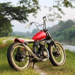Honda Cg125 Bobber By Fng Works Bikebound