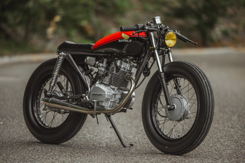 Honda 125 Brat Cafe By Revolt Cycles