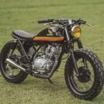 Honda Tmx 150 Supremo Brat Tracker By Revolt Cycles Bikebound