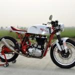 Vajra 612 Royal Enfield Custom Cafe Racer Bikebound