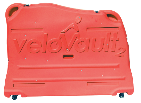 Velovault2 bike box red