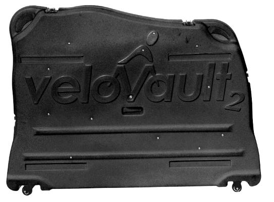 Velovault2 bike box black