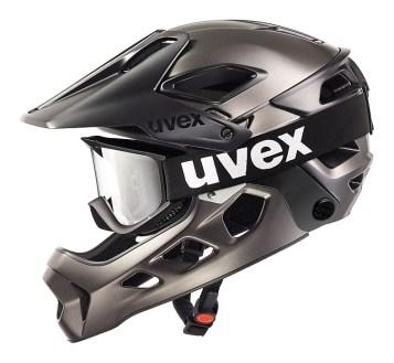 Uvex Jakkyl hde - připraveno na sjezdové brýle