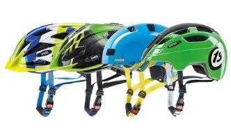 Dětské a juniorské helmy na kolo Uvex