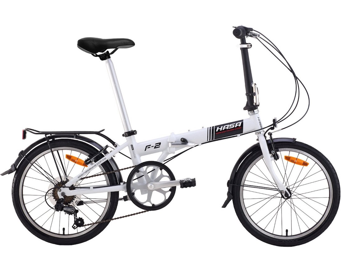 Hasa Folding Foldable Bike Sram 6 Speed Review