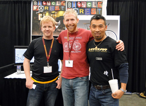 Brent with Jeff Gjertsen and Koh Annoura