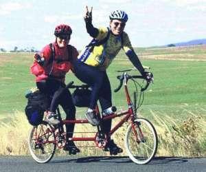 WEB Q Alan and Theresa Scholz Big Ride 2003