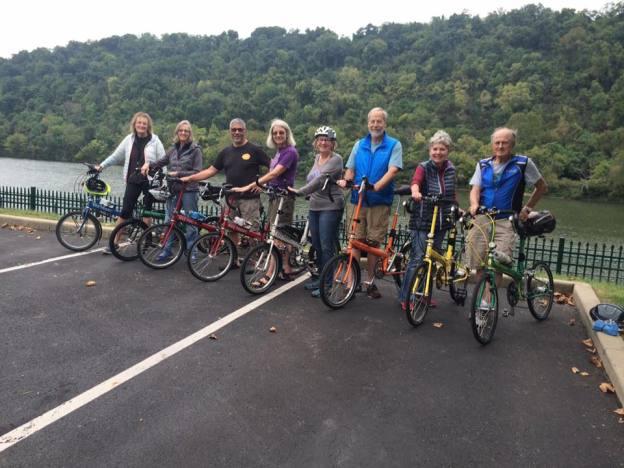 Eight Bike Friday riders trek the Great Allegheny Passage