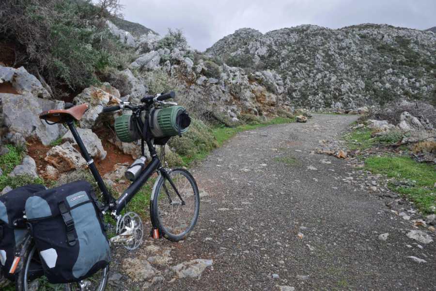 Pocket Rocket Pro on gravel path in Crete Greece