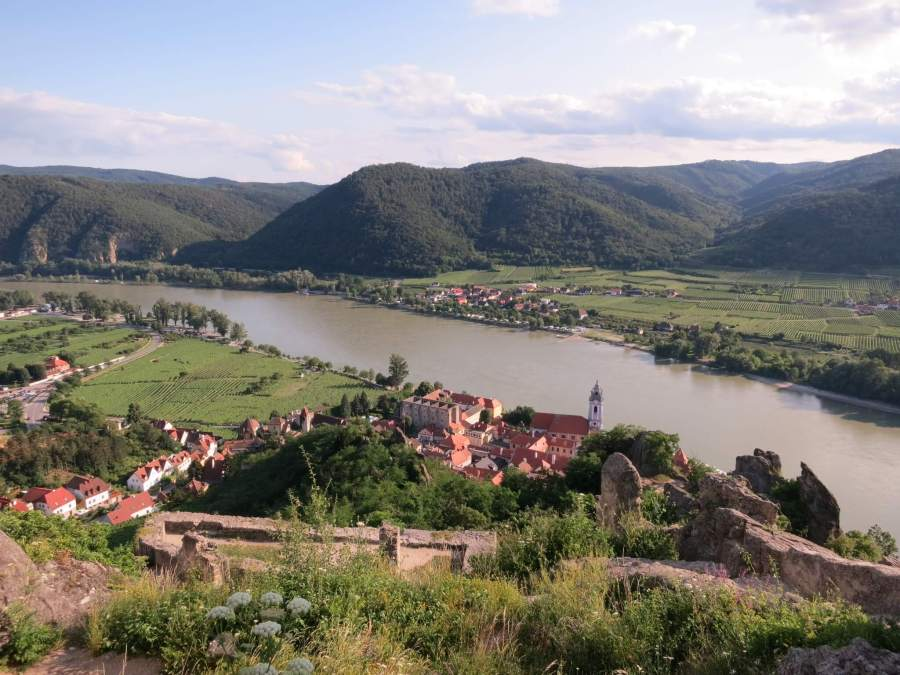The Danube River in Europe